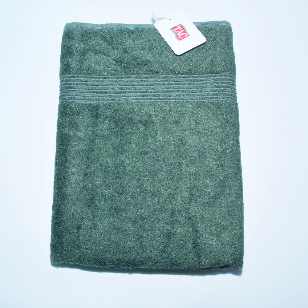 7d8d05e6c513 Бамбуковое полотенце для ванной TAC Maison Green 50×90см ...